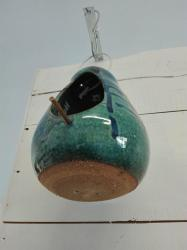 mangeoire à oiseaux en céramique