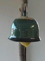 mangeoire à oiseaux céramique pour boule de graisse