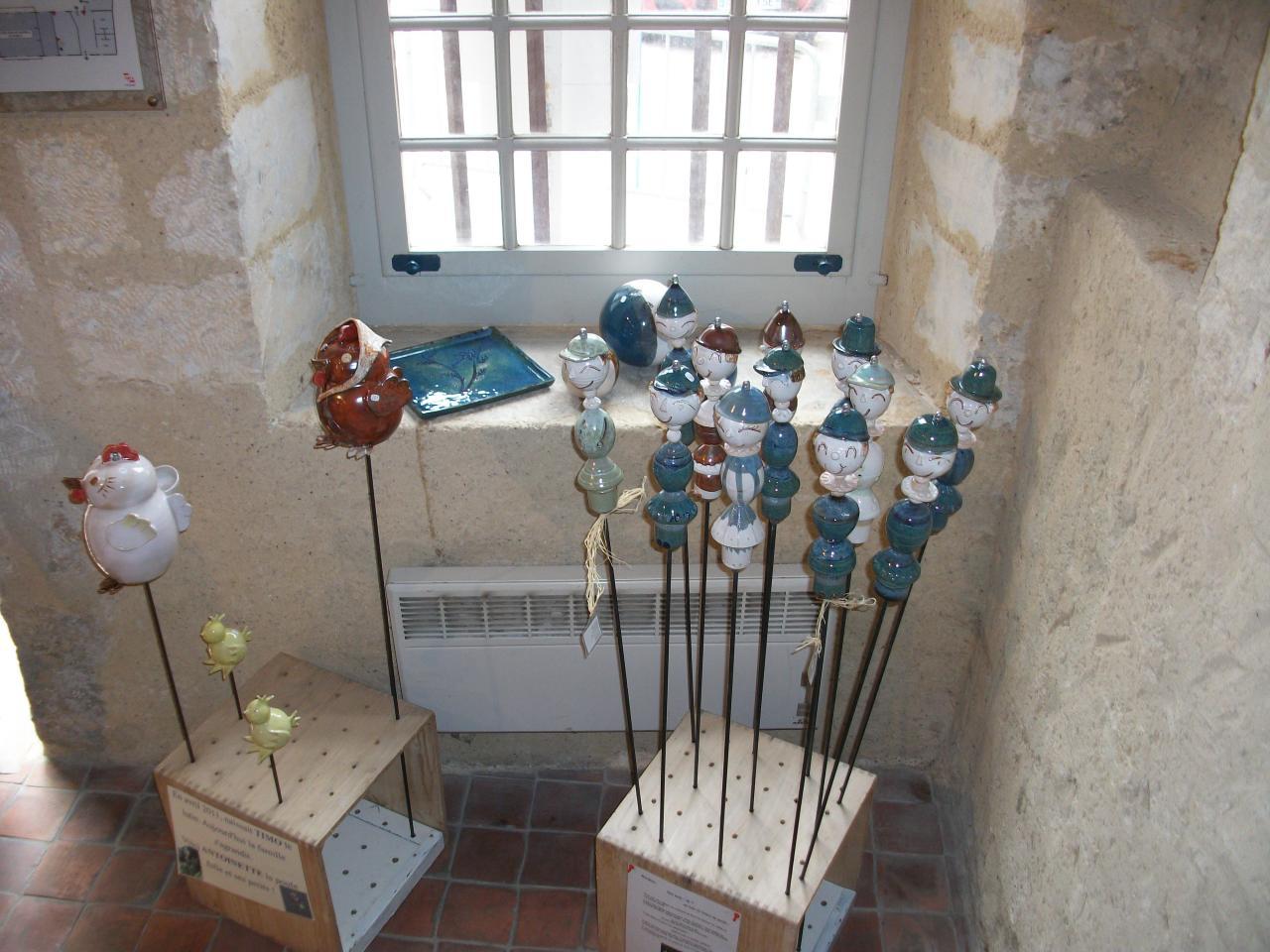 D coration jardin lutin - Poterie decorative pour jardin ...