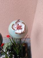 Boule fleur pour déco extérieure