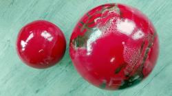Boules rouges