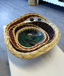 tressage en osier et poterie artisanale