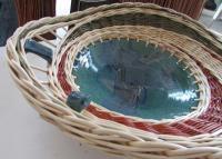 Coupe vannerie sur céramique