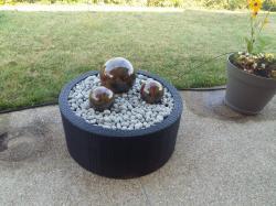 boules céramique marrons pour dehors