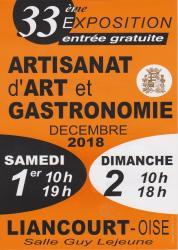 exposition artisanale Liancourt, Oise, Picardie, salon potiers oise