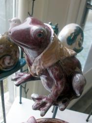 Popie, le tuteur grenouille pour la déco extérieure