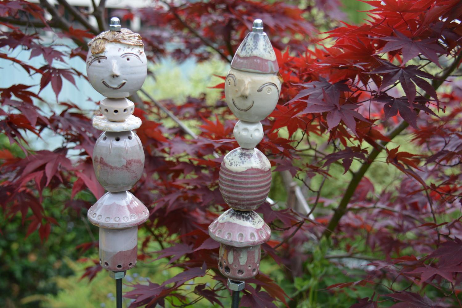 Doroth e bajeux poterie artisan potier jublains en for Le jardin moghol 53 rue vieille du temple