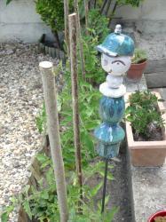 Timo, le lutin en argile pour agrémenter votre jardin