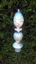 tuteur de jardin vert pour la décoration extérieure