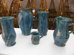 vases en grès tourné
